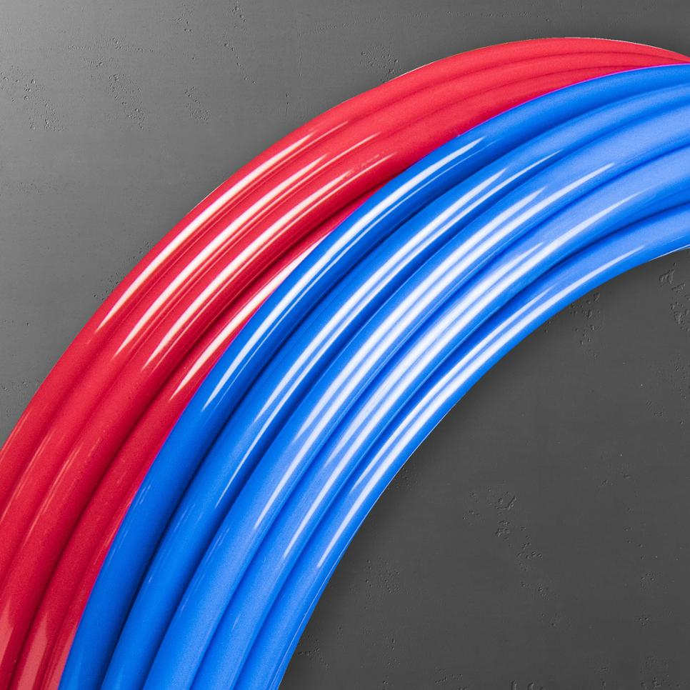 Red Blue Tubing